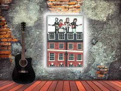 The Beatles terraza