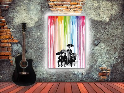The Beatles lluvia de colores